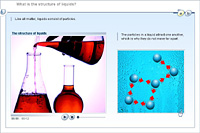What is the structure of liquids?