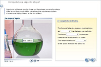 Do liquids have a specific shape?