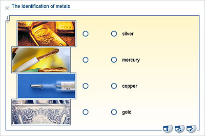 identification of metalic The gallery of minerals has examples of common minerals that are gold is a soft metallic tools to test the properties of minerals for identification $17.