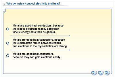 Chemistry Lower Secondary Ydp Whiteboard Exercise Why Do Metals Conduct Electricity And Heat