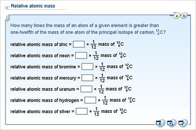 Chemistry   Lower Secondary   YDP   Whiteboard Exercise   Relative Atomic  Mass