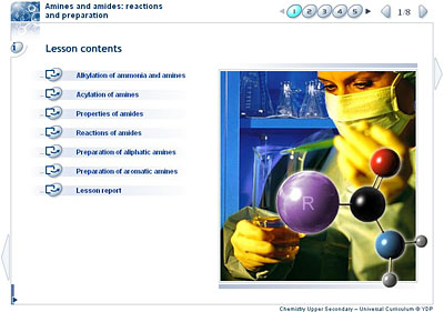 Chemistry - Upper Secondary - YDP - Class activity - Amines and
