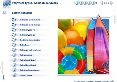 Chemistry - Upper Secondary - YDP - Class activity - Polymer types ...
