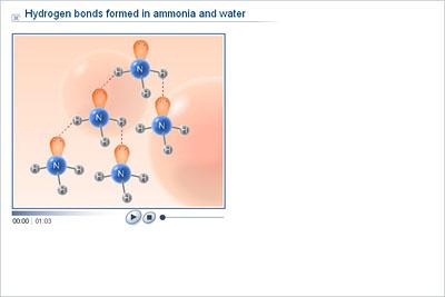 Chemistry - Upper Secondary - YDP - Animation - Hydrogen bonds
