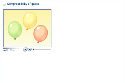compressibility chemistry. chemistry - upper secondary ydp animation compressibility of gases r