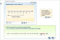 Negative integers