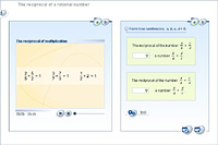 The reciprocal of a rational number