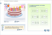 Division of rational numbers
