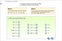 Dividing by a decimal