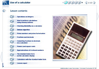 Use of a calculator
