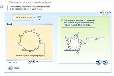 Mathematics Lower Secondary Ydp Student Activity The Exterior Angle Of A Regular Polygon