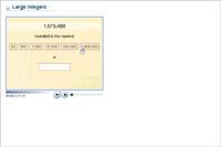 Large integers