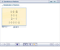Operations on fractions