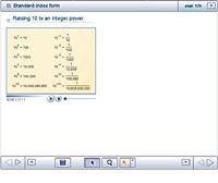 Standard index form