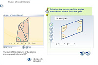 Angles of quadrilaterals