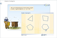 Angles of polygons