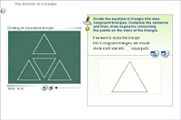 The division of a triangle