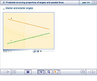 Problems involving properties of angles and parallel lines