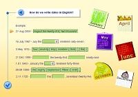 Writing – Dates