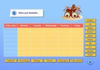 Preparing a school timetable