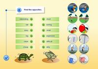 Adjectives and their opposites
