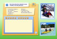 Writing activity – Climate in your country