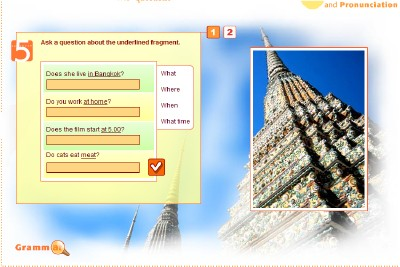 English - Beginner - YDP - Student activity - Grammar