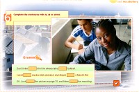 Study pages J - Verbs with to, at and about (2)