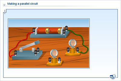 Science - Upper Primary - YDP - Simulation - Making a parallel circuit