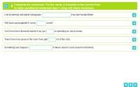 Lesson 11 Conditional sentences: type 1 Page 04